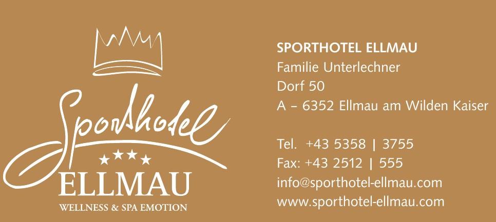 SPORTHOTEL ELLMAU Familie Unterlechner