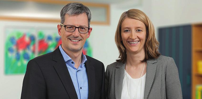 Stefan Wittmann, Diplom-Kaufmann, Steuerberater und Christa Graßl, Steuerberaterin